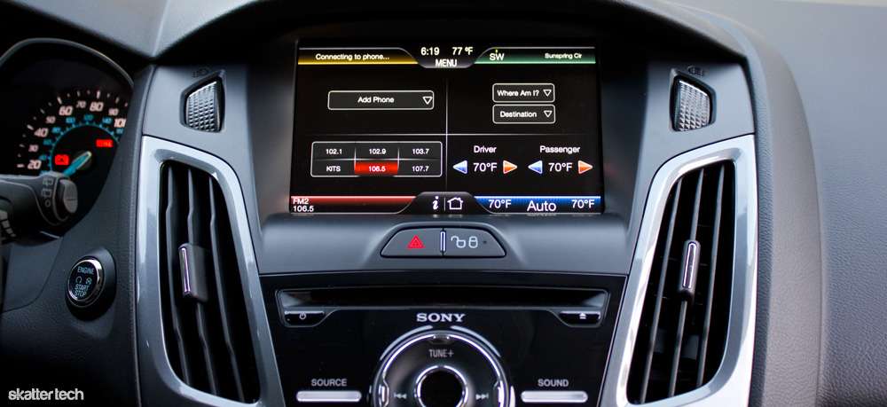 ford focus 2012 sync with myford touch review skatter rh skatter com GPS Navigation Ford Sony Navigation System