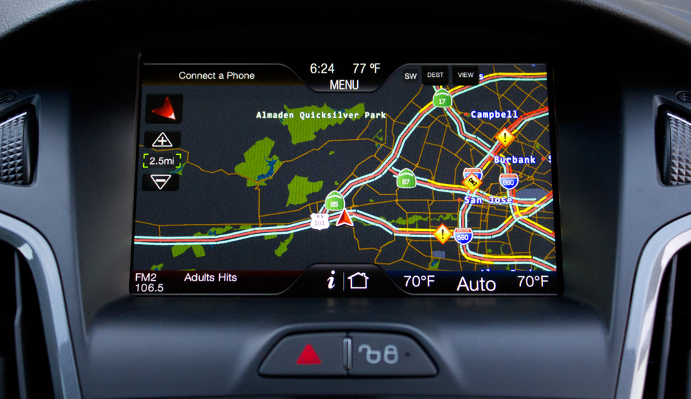 ford focus 2012 sync with myford touch review skatter rh skatter com Sony Navigation Controller Sony GPS Navigation