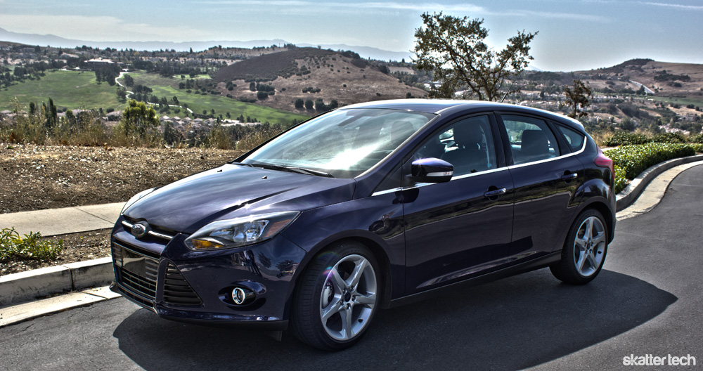 Ford Focus 2012 Sync With Myford Touch Review Skatter